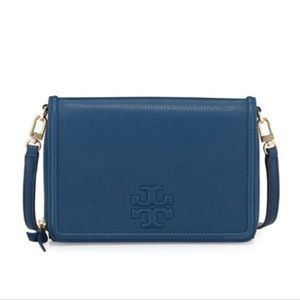 Tory Burch Bags - Tory Burch Thea Leather Wallet CrossBody Bag